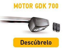 Kit de motorización para puerta de garaje GDK 700 Somfy