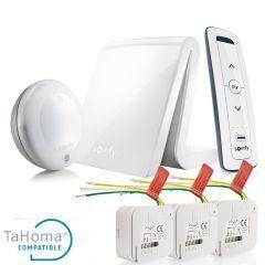 Pack TaHoma para el control de persianas con micro receptores RTS