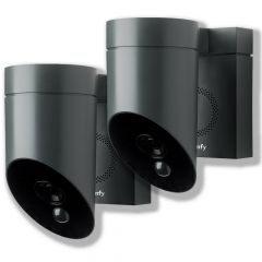 Pack de 2 cámaras exteriore Somfy Protect Gris